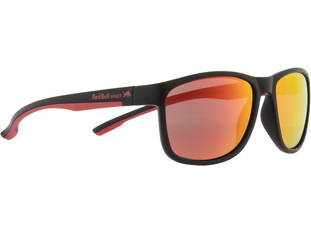 Red Bull SPECT Twist Lunettes de soleil, black/smoke-red